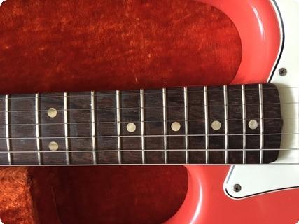 Fender Stratocaster 1963 Fiesta Red