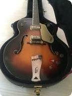 Gretsch Guitars-6196 Country Club-1963-Sunburst