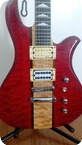 Bc Rich Eagle 2005 Transperent Red