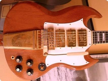 Gibson Sg Custom   Lyre Vibrola 1972 Walnut