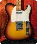 Fender Custom Telecaster 1968 Sunburst