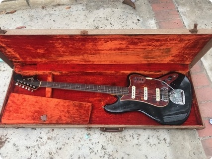 Fender Bass Vi 1963 Black
