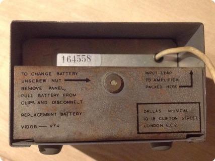 Dallas Music Industries Rangemaster 1965 Grey