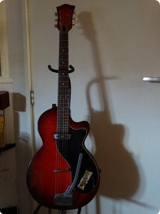 Hofner Club 161 1959 Red/ Black