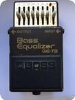 Boss GE 7B 1988