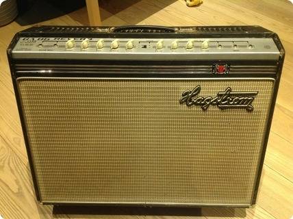 Hagstrom Amps Ga 85 Reverb  1965 Black And Grey