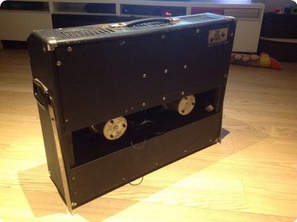 Hagstrom Amps Ga 85 Reverb  1965 Black And Grey