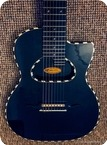 Gibson Roger Giffin Custom Shop 8 String Nylon Semi Acoustic Black