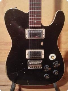 Hansen Guitars T Tone Relic Black Relic
