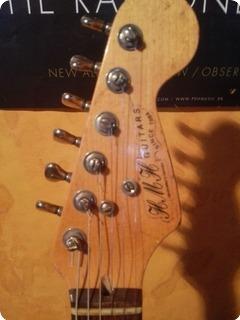 Hansen Guitars S Type  Relic White Relic