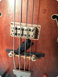 Gretsch Bass 1963 Tobacco Sunburst