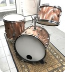 Gretsch-Drumkit-Pink Salomon Satin