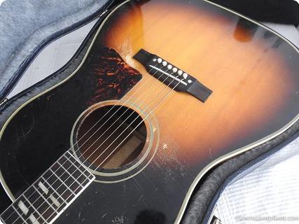Gibson Southern Jumbo Sj 1956 Sunburst