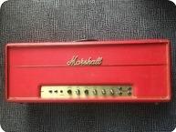 Marshall Super Bass 100 1969 Red