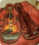Zeta Violins Jazz Fusion 5 String Cherry Sunburst
