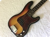 Fender-Precision Bass-1969-Sunburst