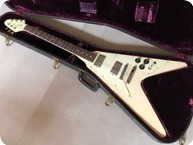 Gibson-Flying V-1979-White