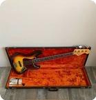 Fender-Jazz Bass-1966-Sunburst