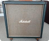 Marshall 4x12 Cabinet With Original 55 Hz G12H30 Speakers 1976