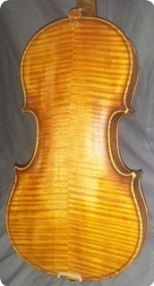 Luthier Frances Violin Antiguo 1900 Natural Transparente