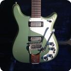Epiphone-Crestwood Custom-1964-Inverness Green