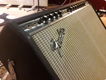 Fender Twin Reverb 1974 Silverface