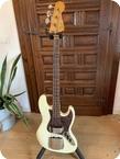 Fender Jazz Bass 1964 Olympic White No Refin