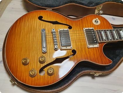 Gibson Memphis Es Les Paul 2014 Historic Burst