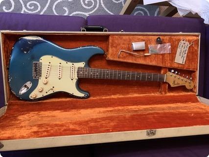 Fender Stratocaster 1963 Lake Placid Blue