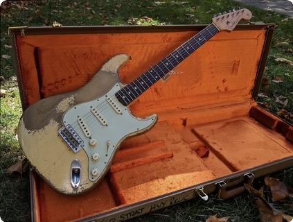 Fender Custom Shop 1960 Stratocaster Dale Wilson Masterbuilt Heavy Relic 2018 Vintage White