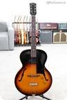 Gibson 1954 ES 125 In Sunburst Vintage Archtop Guitar