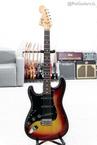 Fender 1976 Stratocaster Left Handed In Sunburst. Lefty LH