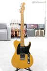 Grosh Guitars Retro Classic Vintage T In Blonde Birdseye Neck