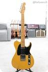 Grosh Guitars Retro Classic Vintage T In Blonde Birdseye Neck