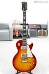 Gibson-Custom Shop 58 Reissue Les Paul VOS Washed Cherry R8 1958 Plain Top-2008