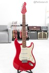 Lsl Instruments Saticoy Red With Matching Headstock 2011