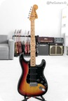 Fender Stratocaster. Maple Fretboard In Sunburst 1977