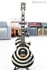 Gibson Zakk Wylde Les Paul Custom Bullseye UNPLAYED Swarovski Crystals And 2009