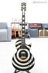 Gibson-Zakk Wylde Les Paul Custom Bullseye UNPLAYED Swarovski Crystals And-2009