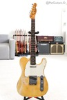 Fender-73 Telecaster With Rosewood Fretboard In Blonde-1972-Blonde