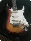 Fender-Stratocaster-1974-Sunburst, Rosewood