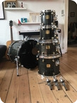 Yamaha Maple Custom Kit 1989 Black Maple Finish
