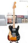 Fender Telecaster Deluxe In Sunburst 7.9lbs 1974