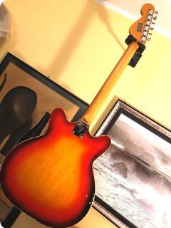 Fender Coronado Ii 1967 Cherry Burst
