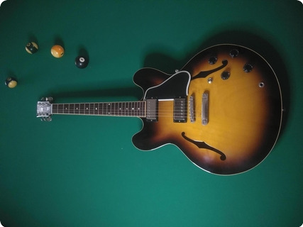 Gibson Es335 Custom Reissue 2011 Sunburst