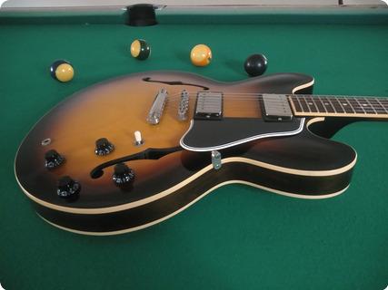 Gibson Es335 Custom Reissue 2011 Sunburst