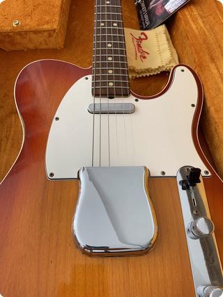Fender Custom Shop Telecaster 63 Relic 2016 Cherry Sunburst