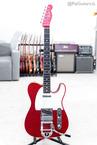 Fender Custom Shop Postmodern Telecaster Bigsby In Red Sparkle 2017