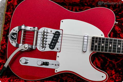 Fender  Custom Shop Postmodern Telecaster Bigsby In Red Sparkle 2017