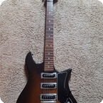 Hagstrom Guitars Corvette 1965 Brown Burst